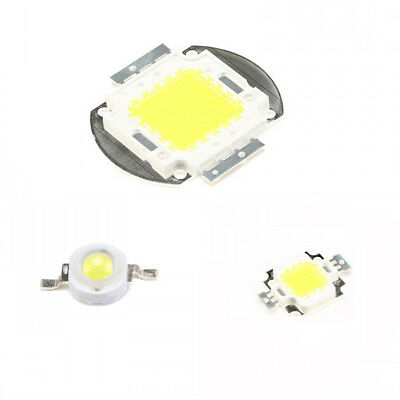 1W~ 100W White Super Bright Integrated SMD LED Chip High Power Bulb Floodlight