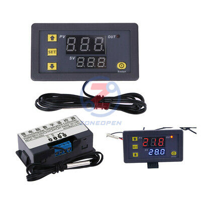 AC110V-220V 10A W3230 LCD Thermostat Temperature Controller Regulator Meter