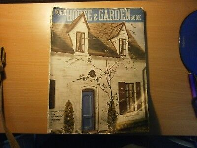 Three Vogue House and Garden Magazines 1936,1937 and 1938