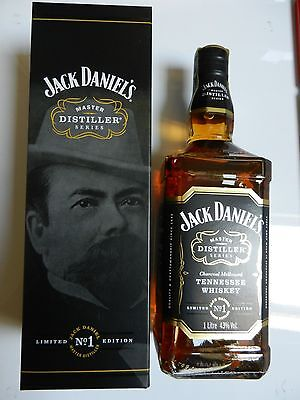 Jack Daniels Master Distiller 1 Paper seal BOX NEU Limited Edition one