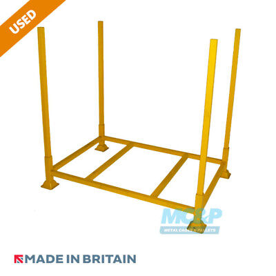 Metal/Steel Refurbished Open Post Stillage (Pallet) with Demountable Legs