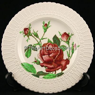 Antique 1910 English Rose Decorative Plate Art Nouveau Cauldon Pottery 10In