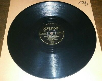 Fats Domino 78rpm London - Don't leave me this way/Somthing's wrong HL.8096