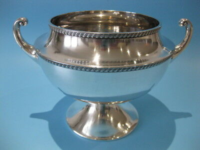 Very Nice Large Antique Silver Plate Twin Handle Urn Shape Champagne Ice Bucket