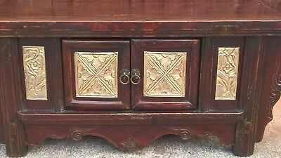 Gorgeous Antique Oriental Altar Table - Make Great TV Stand / Media Cabinet !