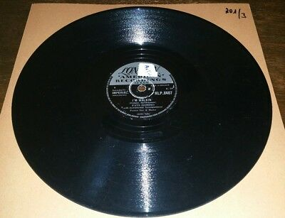 Fats Domino 78rpm London - I' m walkin'/I' m in the mood for love - HLP.8407