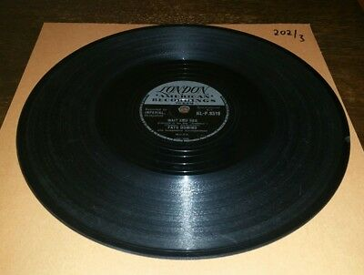 Fats Domino 78rpm London - Wait and see/I still love you - HL-P.8519
