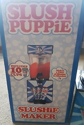 SLUSH PUPPiE MAKER machine making your own frozen ice cold SLUSHiE machine ice