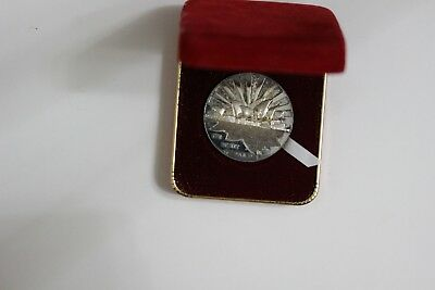 Australia Official Opening Sydney Opera House 1973 Silver Medal (3261721M8)