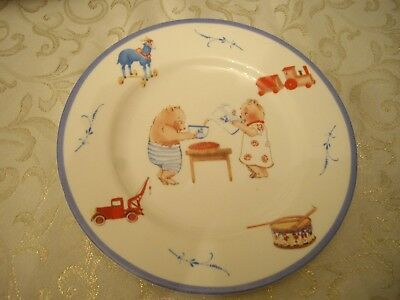 Villeroy & Boch Family Bears  Child's  - Plate   8.25""