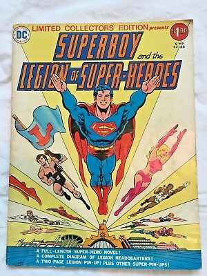 Superboy and the Legion of Super-Heroes Limited Collectors Edition C-49 DC 1976