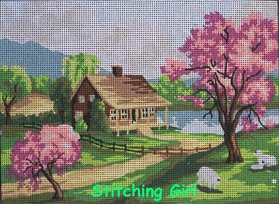 Spring Tapestry To Stitch ~ Small
