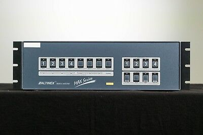 Altinex 4x4 Matrix Switcher mit RGBHV