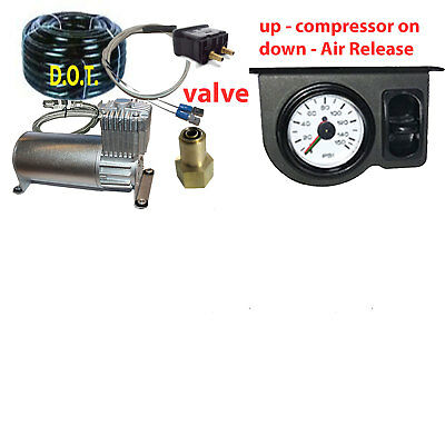 Tow Assist Control In Cab Air Height Control Electric Switch Gauge Panel 100 xzx