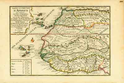 Africa - Canary Islands - Cape Verde Islands - de Fer - ca 1705