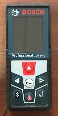 Bosch GLM50C 165 FT Laser Distance Measure With Bluetooth USED