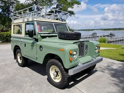 """1971 Land Rover Other  1971 Land Rover Series 2A 88"""""""