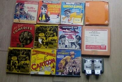super 8 mm film collection