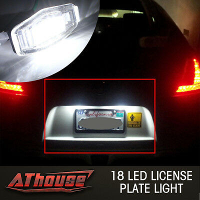 18 License Plate LED Light Direct Fit For Acura TL TSX MDX Honda Civic Accord