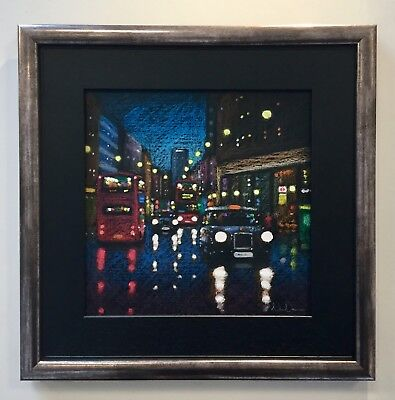 Neil Dawson - 'Out and About' - Framed Original (London) - Winter Sale