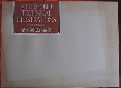 Automobil Technical Illustrations - Yoshihiro Inomoto e. a.