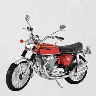 Hallmark 2018 ~ Honda Motorcycles 1969 CB750 Metal Ornament