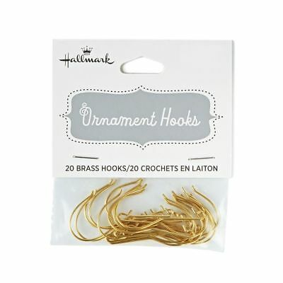 Hallmark 2018 ~ Pack of 20 Keepsake Ornament Hooks