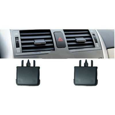 2pcs Center Dash A/C Vent Louvre Slice Air Conditioning Leaf for Toyota Corolla