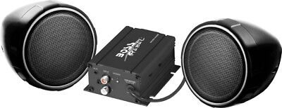 Boss Audio MCBK420B MC420B 600 Watt Motorcycle/ATV Sound System with Bluetooth