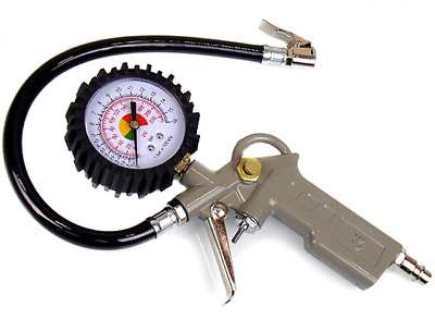 Air Airline Car Tyre Inflator & Pressure Gauge use with compressor CE MARKED