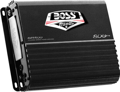 Boss Audio BR800 800W 2 Channel Full Range Class A/B Amplifier