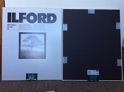 Ilford 16x20 Multigrade RC Satin Paper - Two 50 sheets boxes