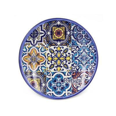 Hand-painted Traditional Portuguese Ceramic Bread & Butter Plate