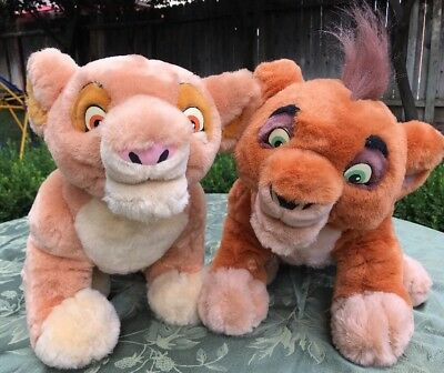 RARE LION KING SIMBAS PRIDE Interactive Talk-n-Sing (KIARA & KOVU) Disney Plush