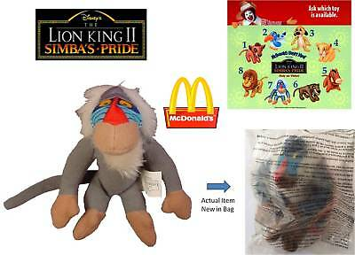 McDonalds Happy Meal Toy 1998 The Lion King II– Rafiki - New in Bag