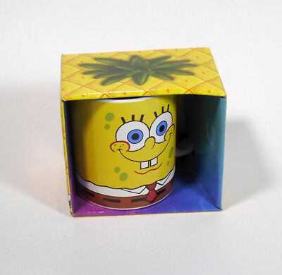 Nickelodeon SpongeBob Squarepants ceramic 12 oz. multicolored cup mug - NIB