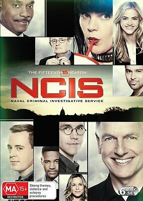 NCIS The Fifteenth Season 15 Box Set DVD Region 4 NEW