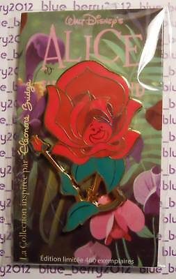 DLP Eleonore Bridge ALICE Pin Red Rose Rouge Disney land Paris trading event day