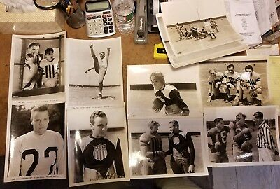 "1953 ""The All American"" Original Movie Photo Lot Of 19 8x10"