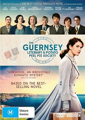The Guernsey Literary and Potato Peel Pie Society DVD Region 4 NEW