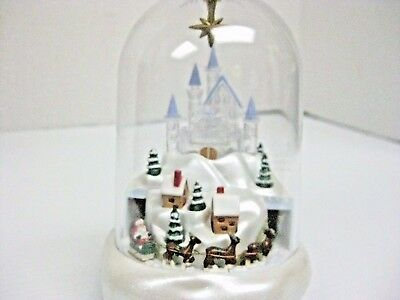 Avon Gift Collection Santa's Magical Castle Ornament 1997 3 Songs And Motion