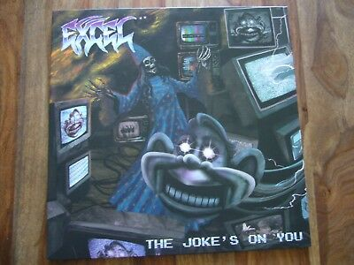 LP Excel - The Joke´s on you Venice Hardcore (ST Beowülf No Mercy D.R.I. Hirax)