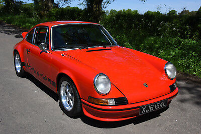 1972  Porsche 911 Carrera RS Touring Evocation   ORIGINAL UK RHD EXAMPLE (911 E)