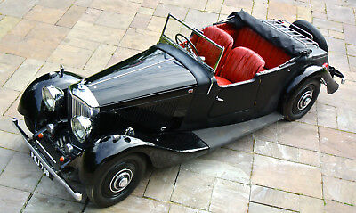 """1934 BENTLEY 3.5 LITRE DHC  """"DERBY"""" Convertible       Only 3 owners from new !"""