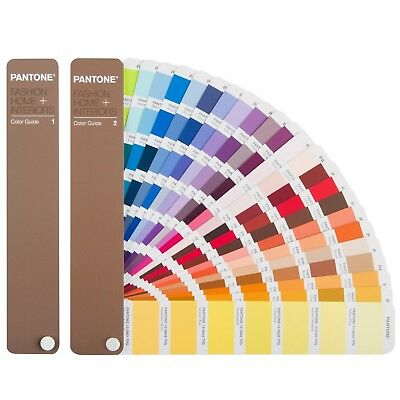Pantone Fashion Home + Interiors Color Guide FHIP110N **BRAND NEW 2018 Edition**