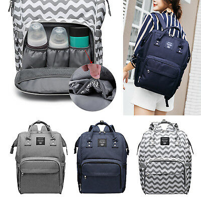 Multifunctional Baby Diaper Nappy Backpack Mummy Maternity Travel Bag Waterproof