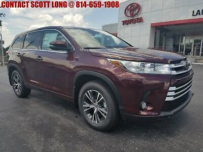 2018 Toyota Highlander New Highlander LE AWD Rear Backup Camera Bluetooth New 2018 Highlander LE AWD Rear Backup Camera Bluetooth Ooh La La Rouge Mica