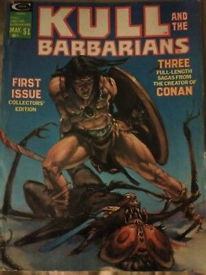 Kull and the Barbarians # 1 Bronze Marvel Magazine 1975 1st issue