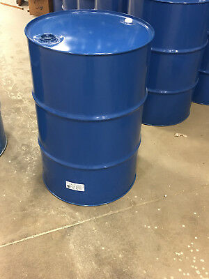 Steel 55 gallon drums new UN rated blue epoxy phenolic lined
