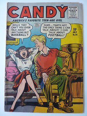 Candy 64 - 1956 - Possible Bill Ward Cover - Quality Comics - Tabby Story